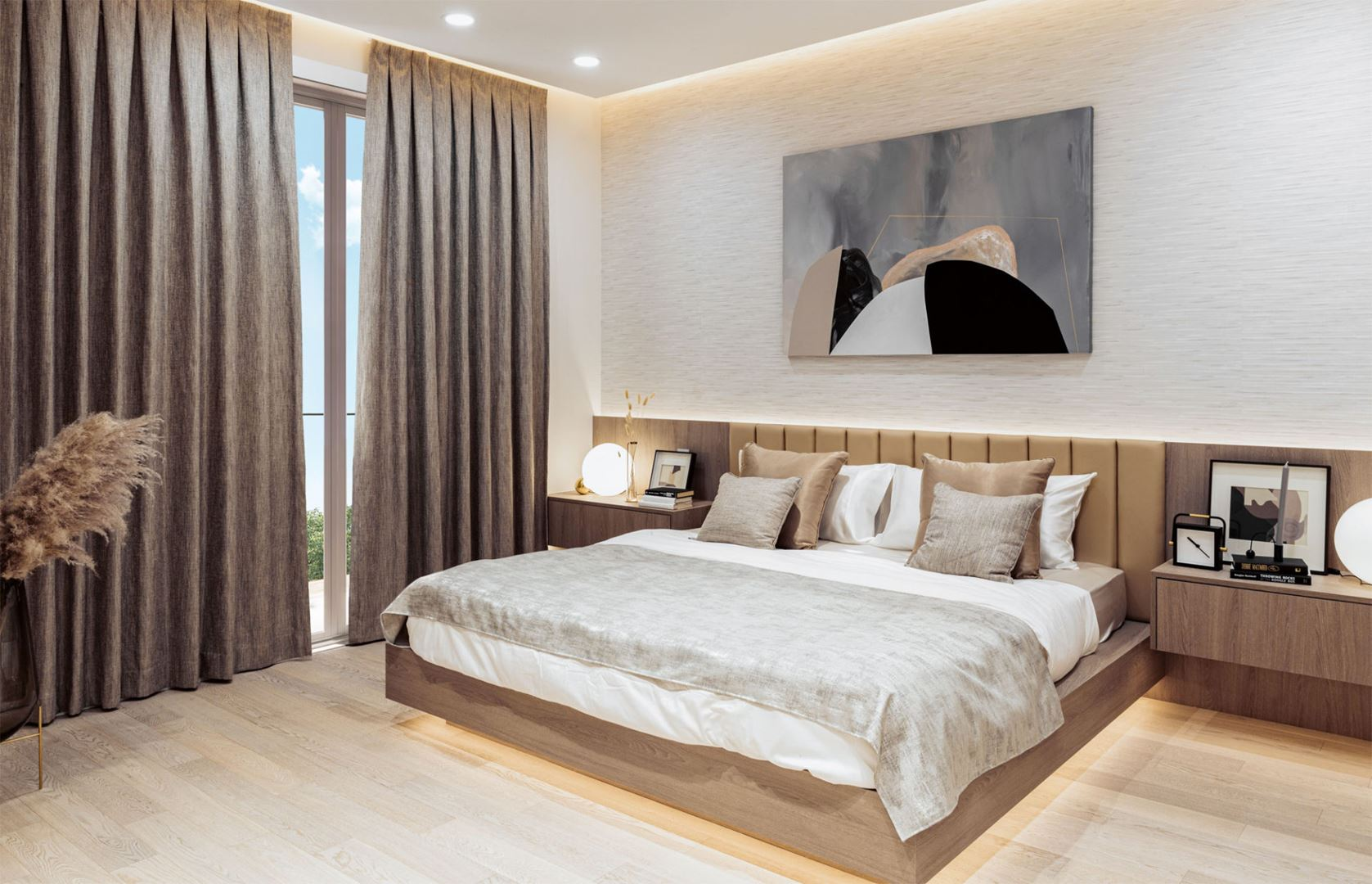 west oak vancouver master bedroom