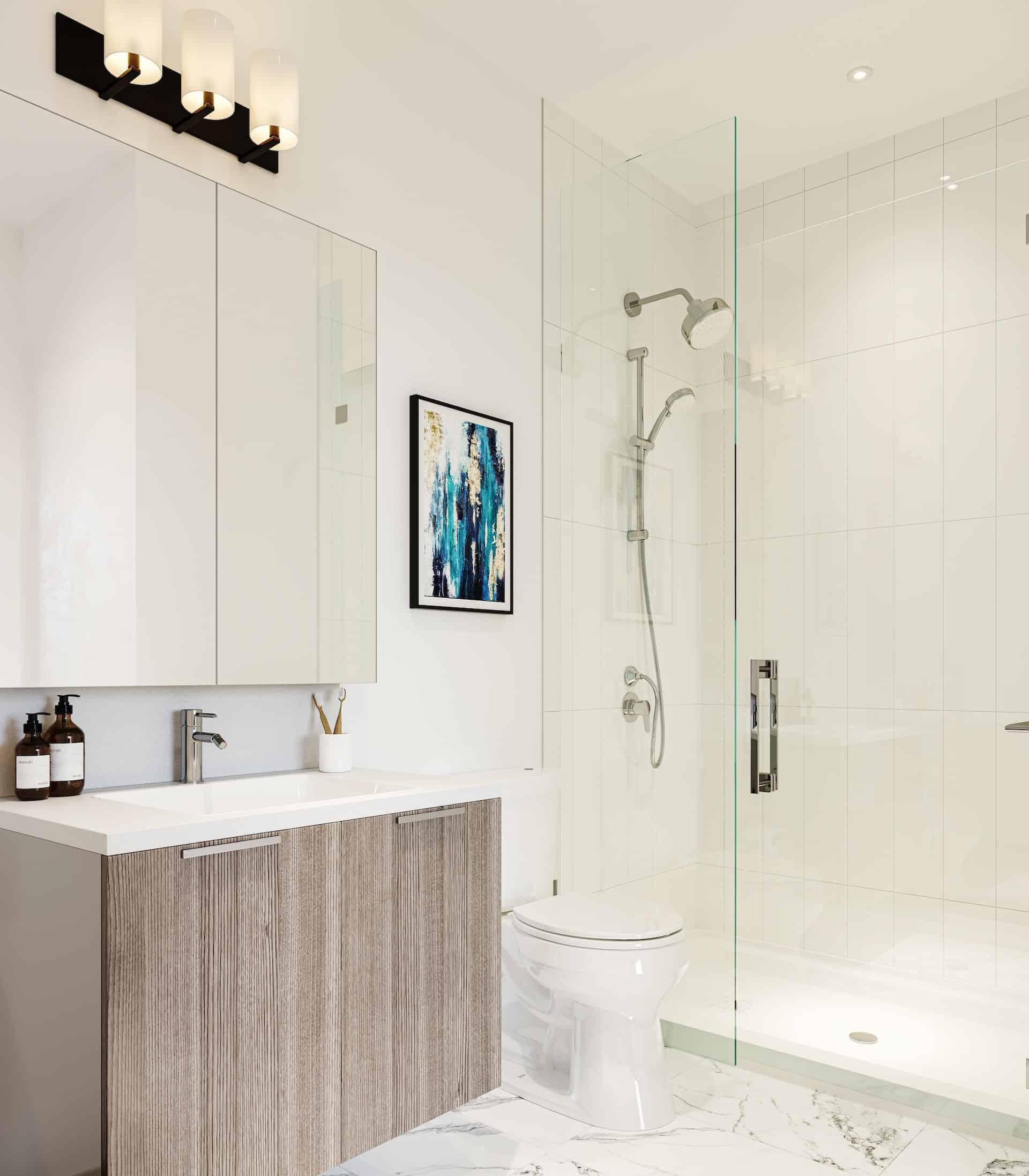 melrose Surrey presale bathroom