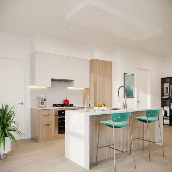 melrose Surrey presale kitchen