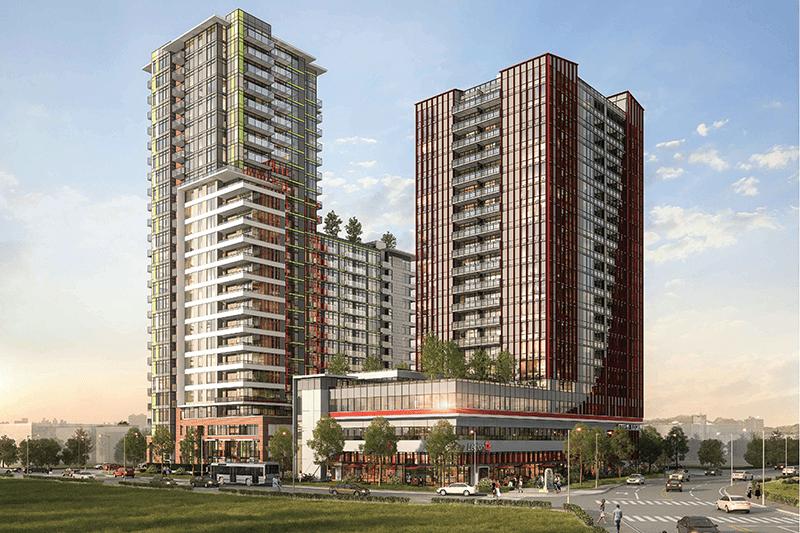 Parc Centrale surrey development